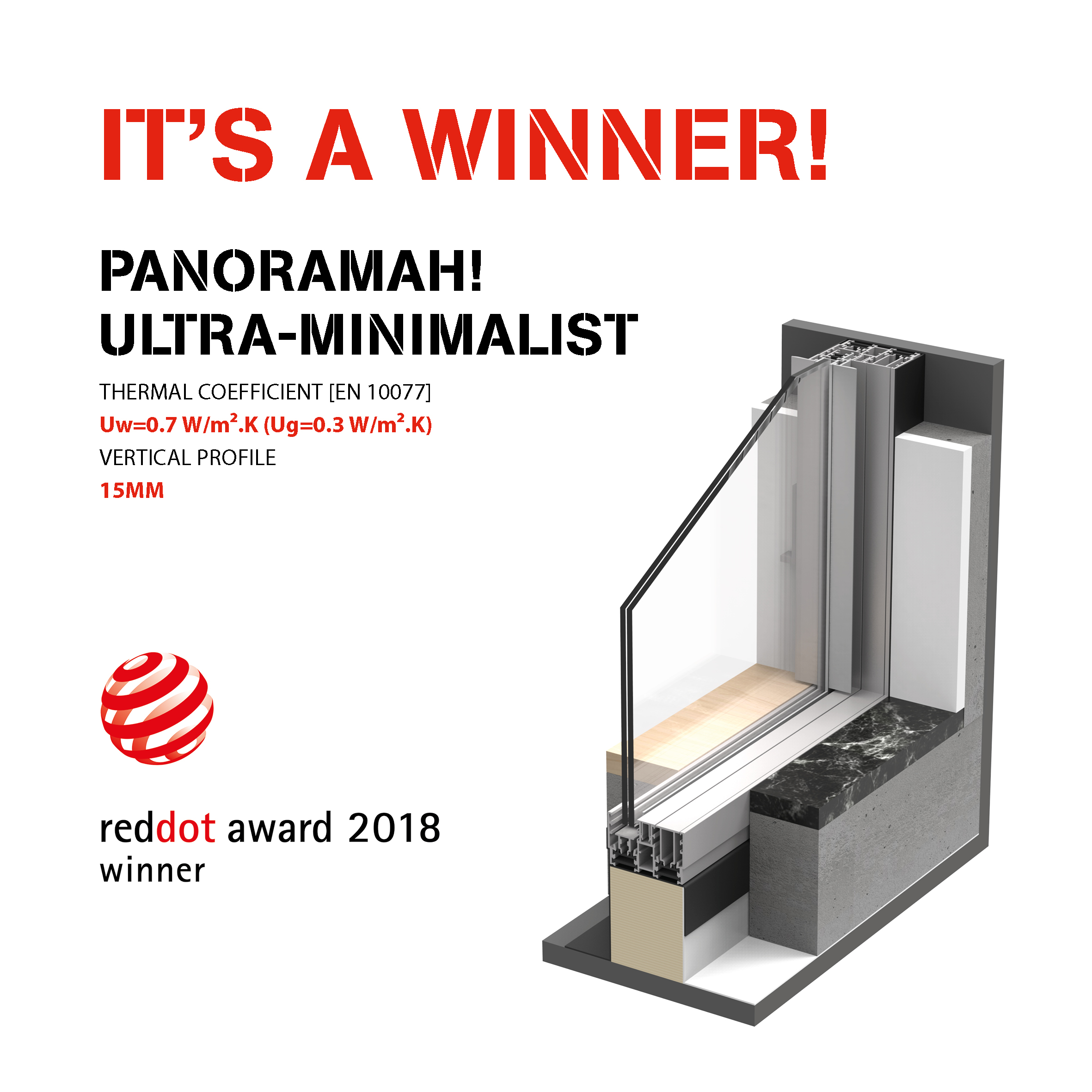 panoramah! Ultra-Minimalist awarded with the Red Dot Design Award 2018