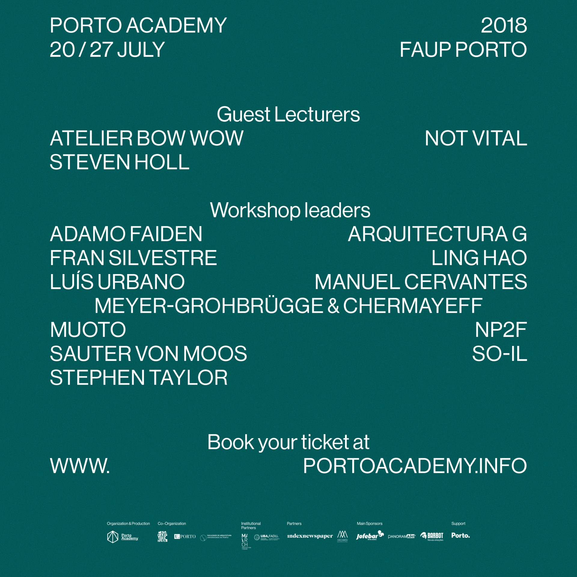 Learning architecture at Porto Academy